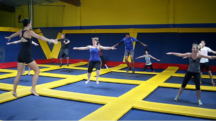 AIR-obics class at Sky High Sports