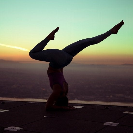 Sunrise Yoga at OUE Skyspace
